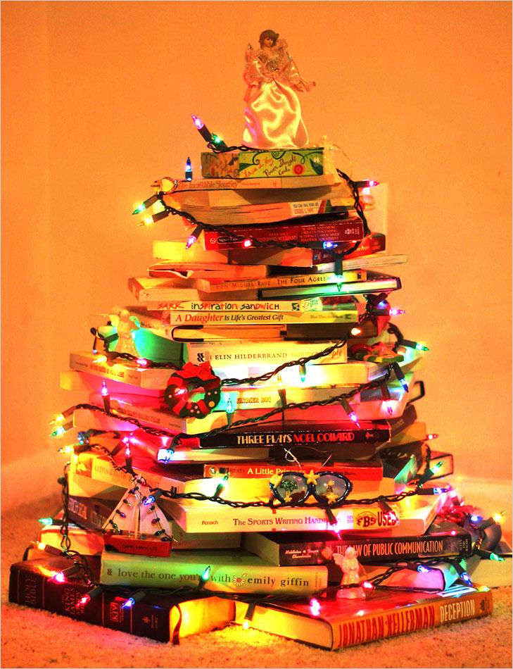 Christmas tree books @TheRoyaleIndia