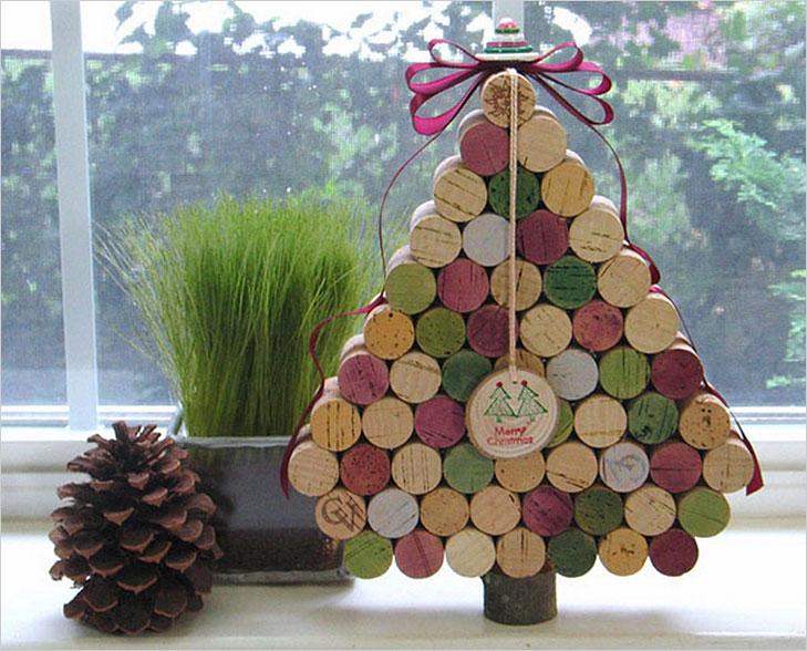 Christmas tree wine cork @TheRoyaleIndia