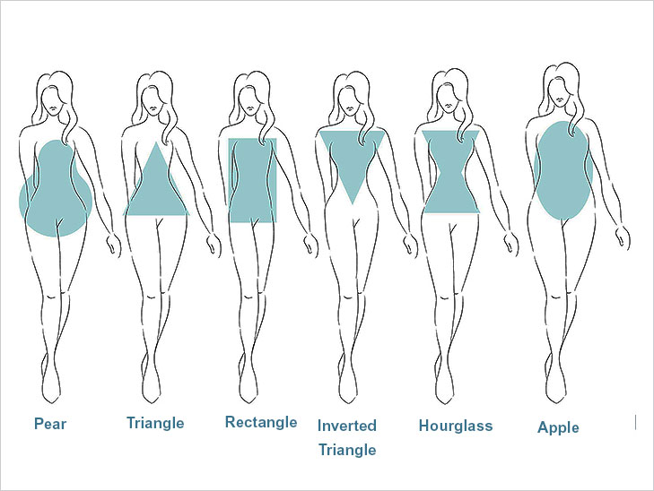 female body shapes @TheRoyaleIndia