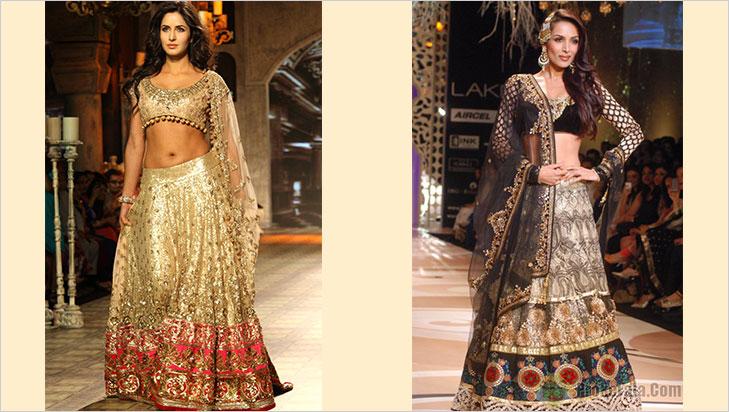 Hourglass bridal lehenga @TheRoyaleIndia