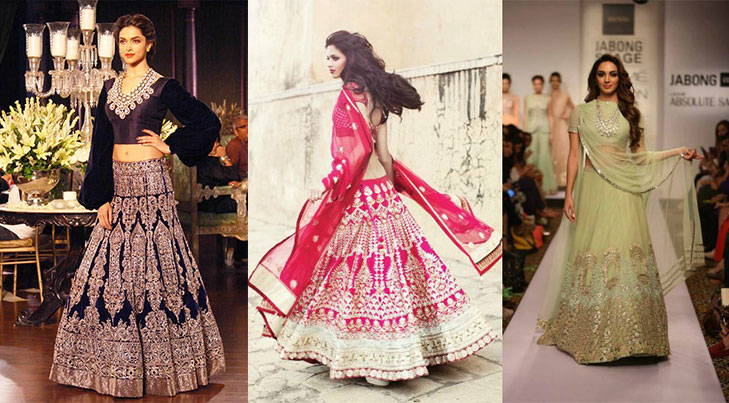 Inverted triangle lehenga @TheRoyaleIndia