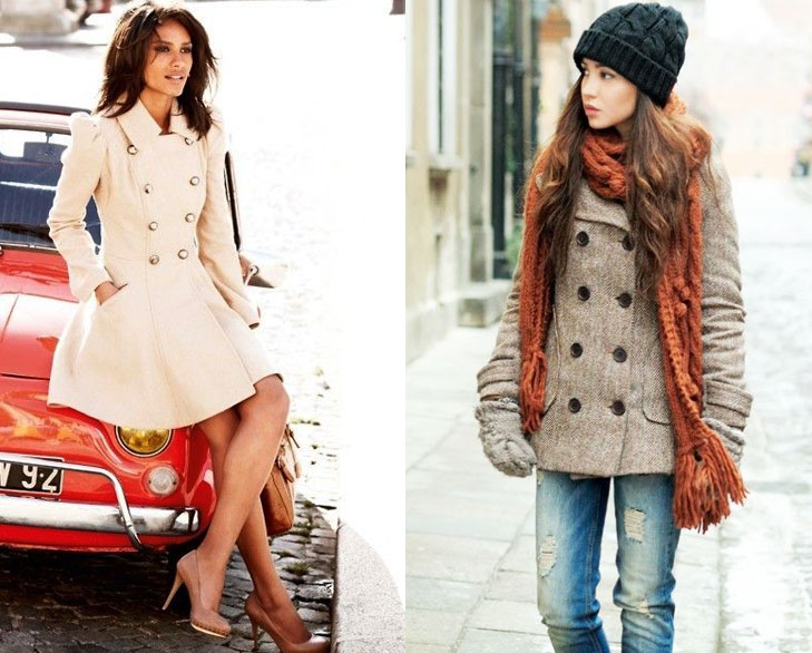 pea coats fashion perfect winter @TheRoyaleIndia