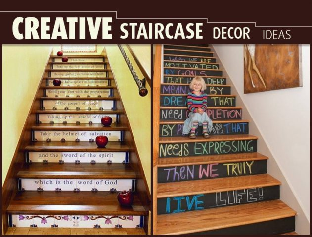 Staircase Decor Ideas @TheRoyaleIndia