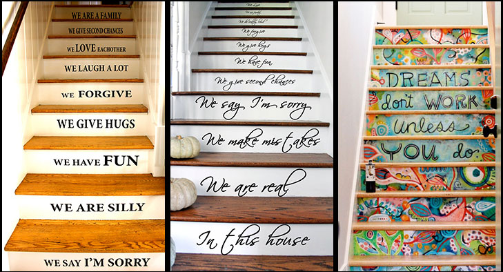 Staircase messages wallpapers @TheRoyaleIndia