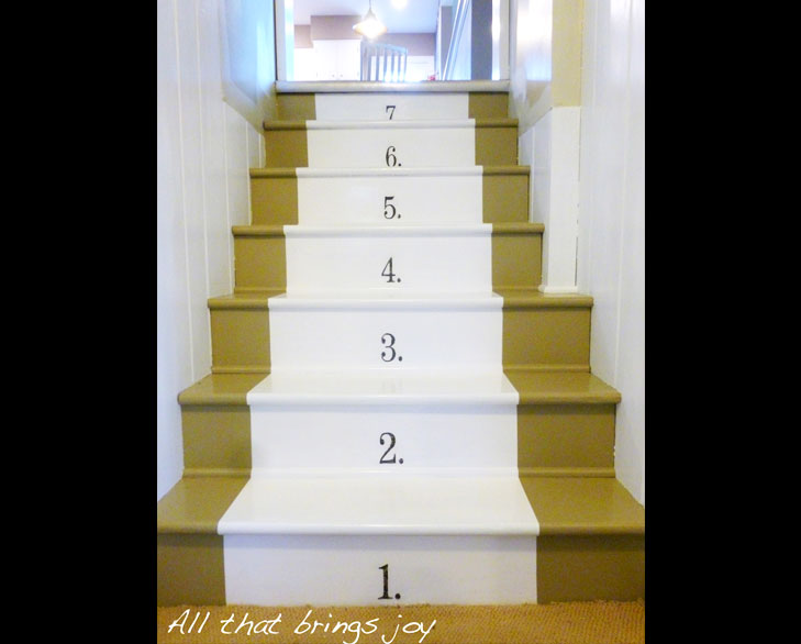 Staircase numbered stairs @TheRoyaleIndia