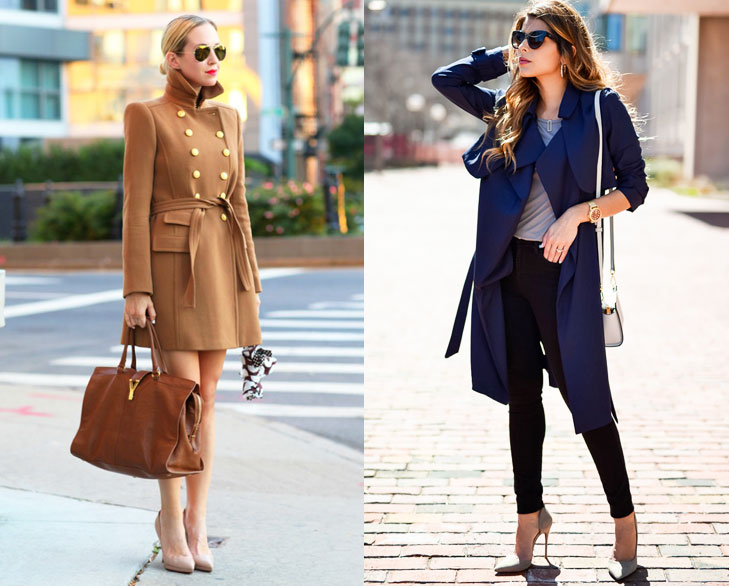 trench coat winter fashion @TheRoyaleIndia