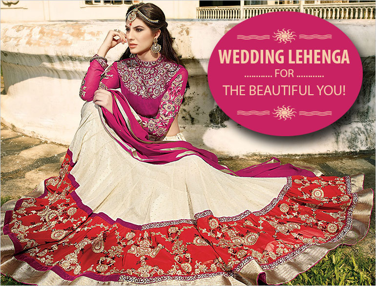 Wedding Lehenga For Your Body Type @TheRoyaleIndia
