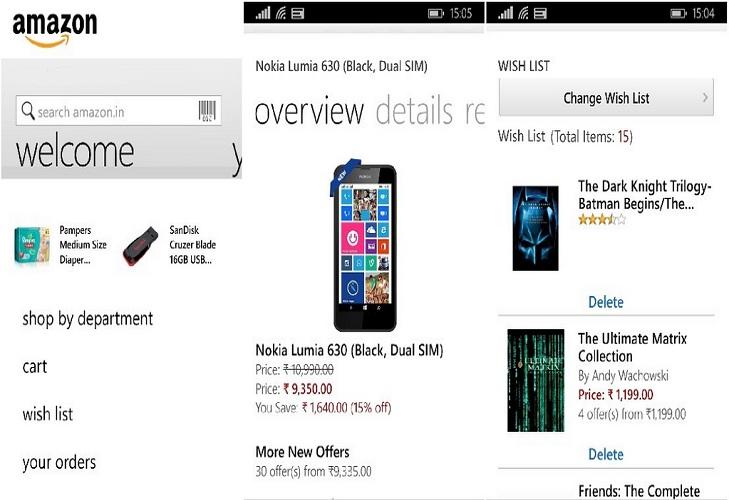 amazon mobile app @TheRoyaleIndia
