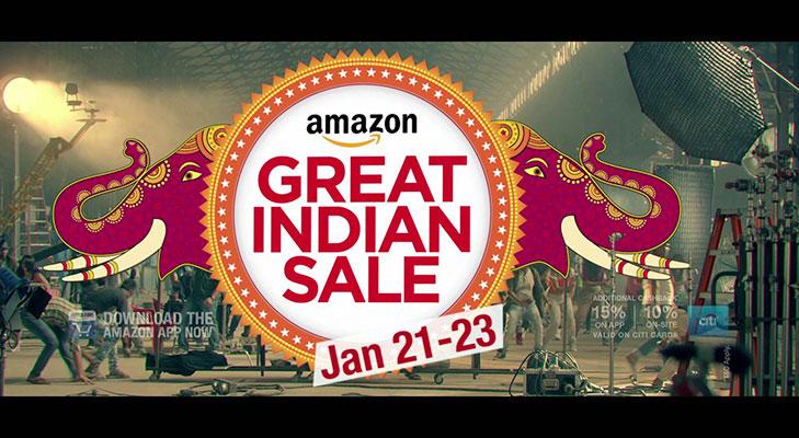 Amazon sale @TheRoyaleIndia