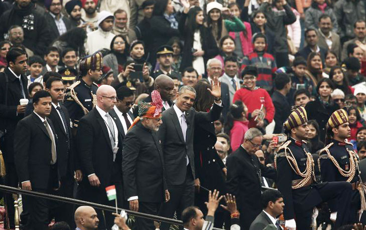 Barack obama republic day @TheRoyaleIndia