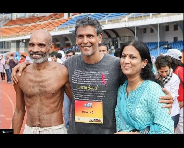 Barefoot runner @TheRoyaleIndia