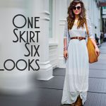 6 Ways to Style Maxi Skirts