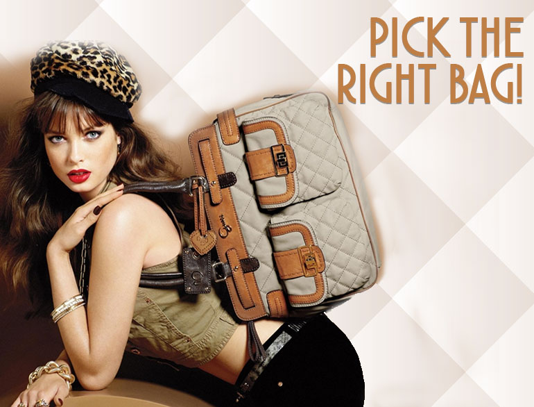 Selecting the right handbag @TheRoyaleIndia