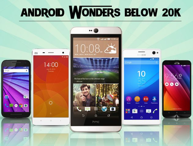 Top 5 Android Phones Under 20K @TheRoyaleIndia