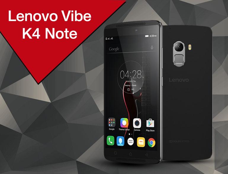 Lenovo Vibe K4 Note @TheRoyaleIndia