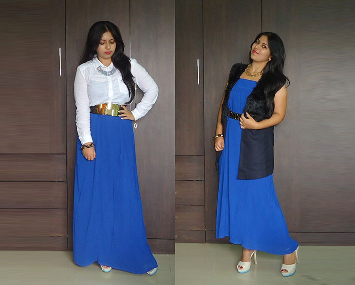 maxi skirt as dress @TheRoyaleIndia