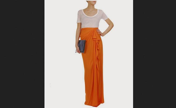 maxi skirt drape @TheRoyaleIndia