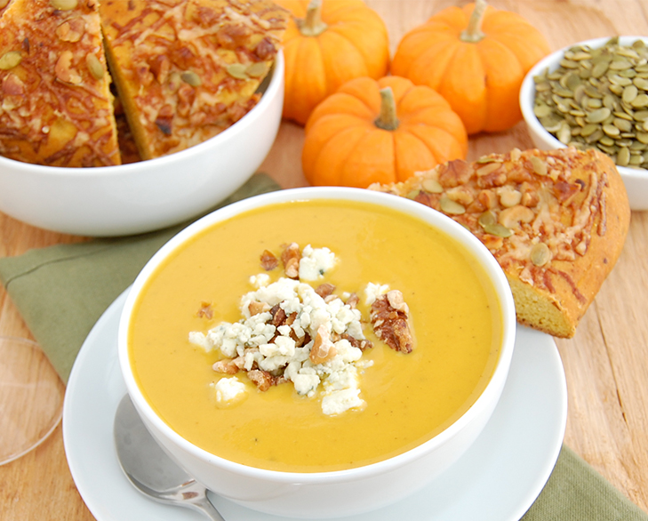 Pumpkin harvest soup @TheRoyaleIndia