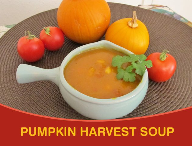 Pumpkin Harvest Soup Recipe @TheRoyaleIndia