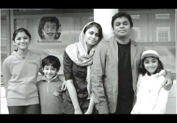 Rahman family children @TheRoyaleIndia