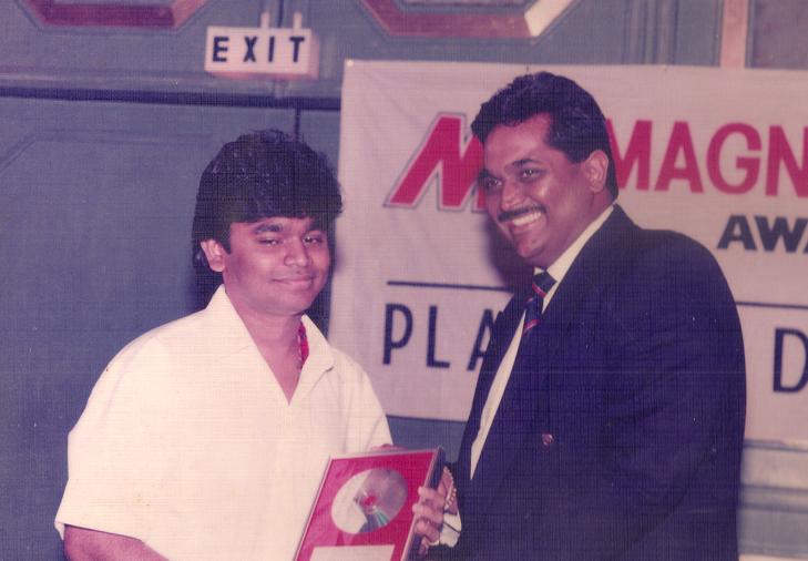 Rahman roja award @TheRoyaleIndia