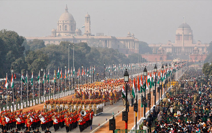 Republic day parade @TheRoyaleIndia