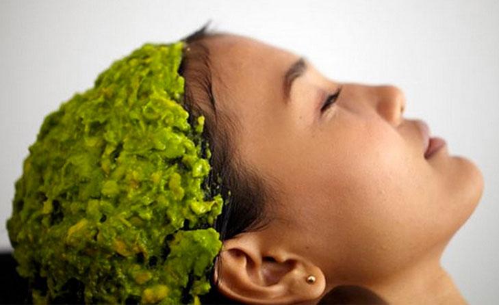 Avocado hair mask @TheRoyaleIndia