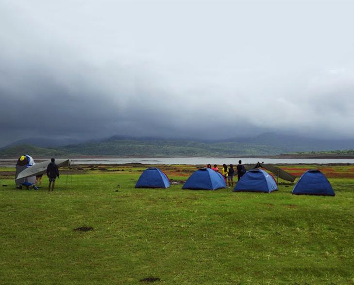 Camping gadeshwar dam @TheRoyaleIndia