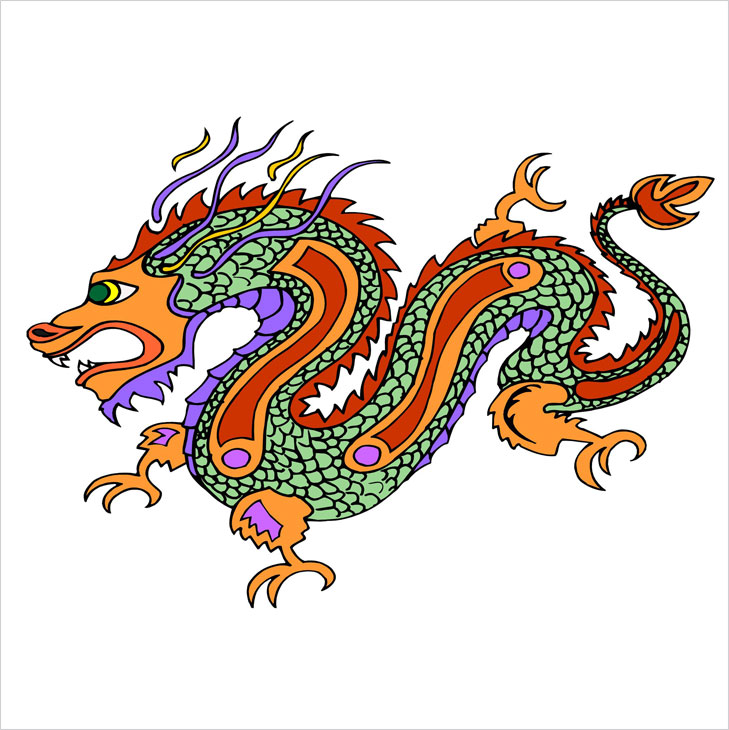 Dragon chinese dragon @TheRoyaleIndia