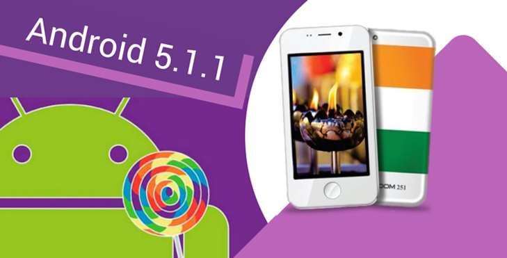 Freedom 251 android lollipop @TheRoyaleIndia