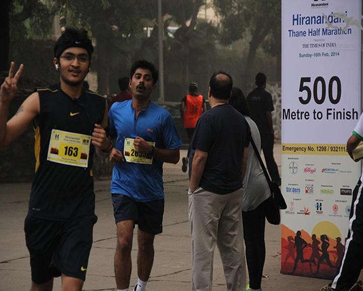 hiranandani marathon valentine 14 feb @TheRoyaleIndia