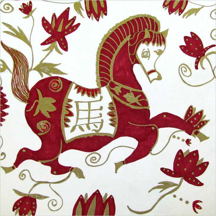 Horse chinese zodiac @TheRoyaleIndia