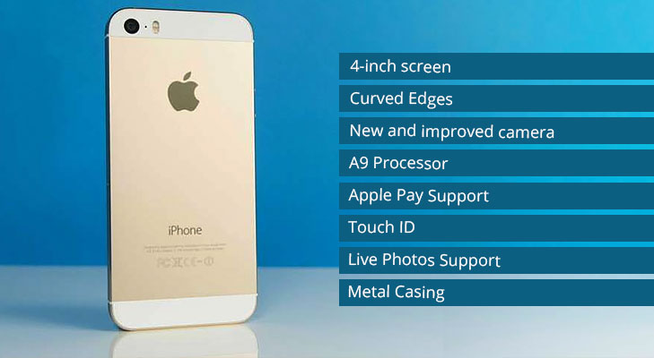 Iphone 5se specifications @TheRoyaleIndia