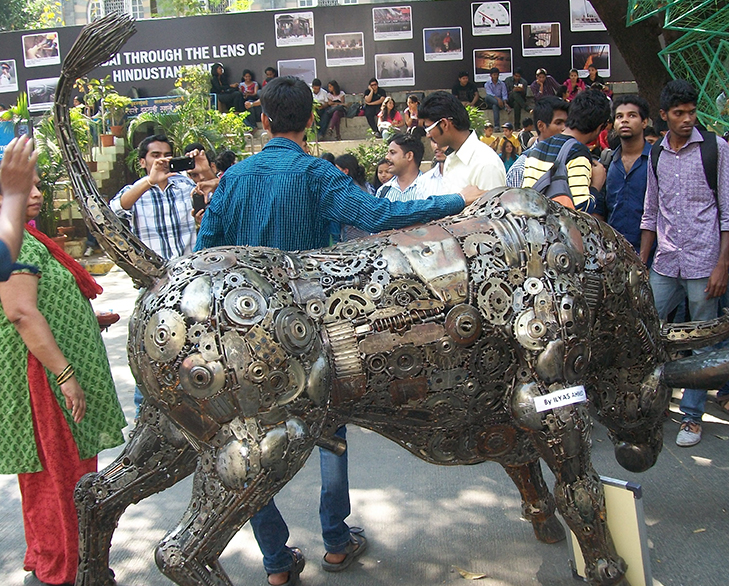 Kala ghoda art festival valentines partner @TheRoyaleIndia