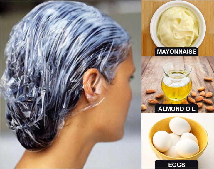 Mayo hair mask @TheRoyaleIndia