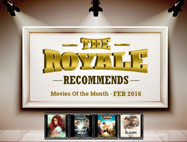 Movie releasing February 2016 @TheRoyaleIndia