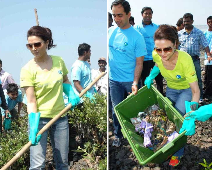 Preity zinta cleanliness ocd @TheRoyaleIndia