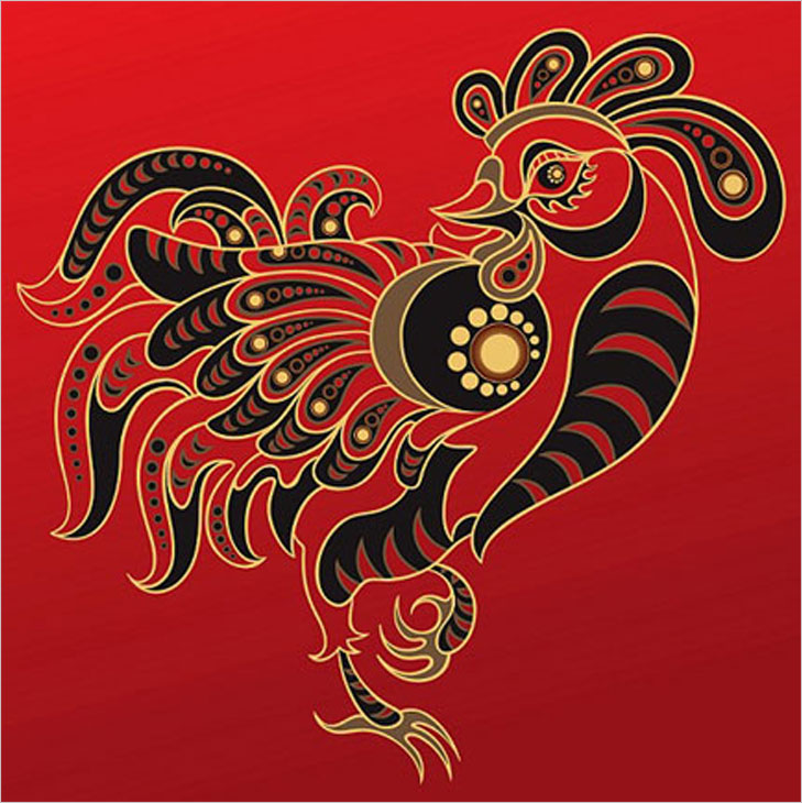 Rooster chinese zodiac @TheRoyaleIndia