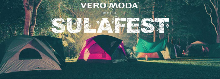 Sula fest tent @TheRoyaleIndia