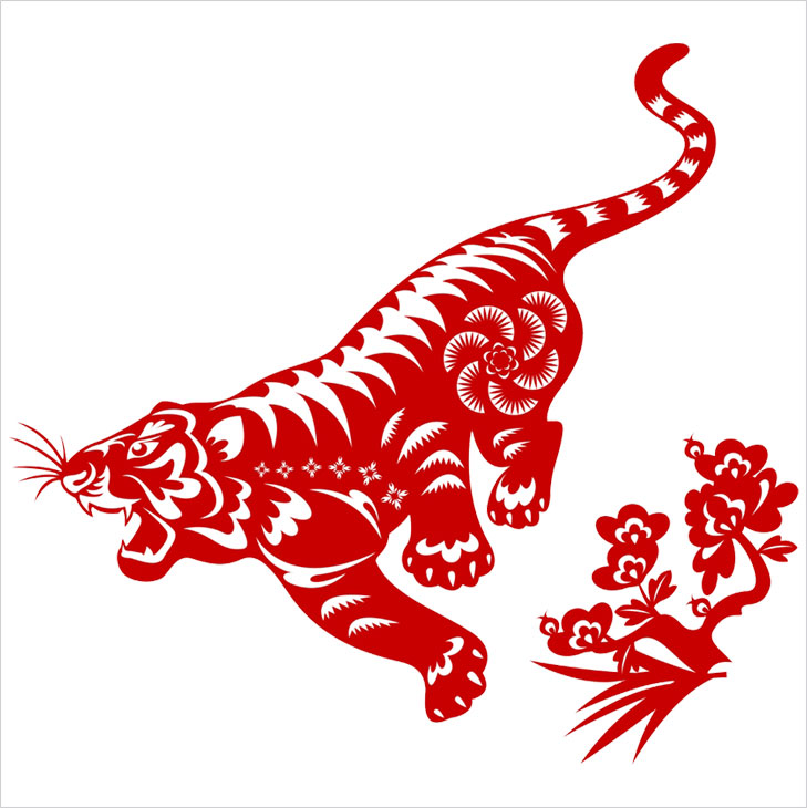 Tiger chinese zodiac @TheRoyaleIndia