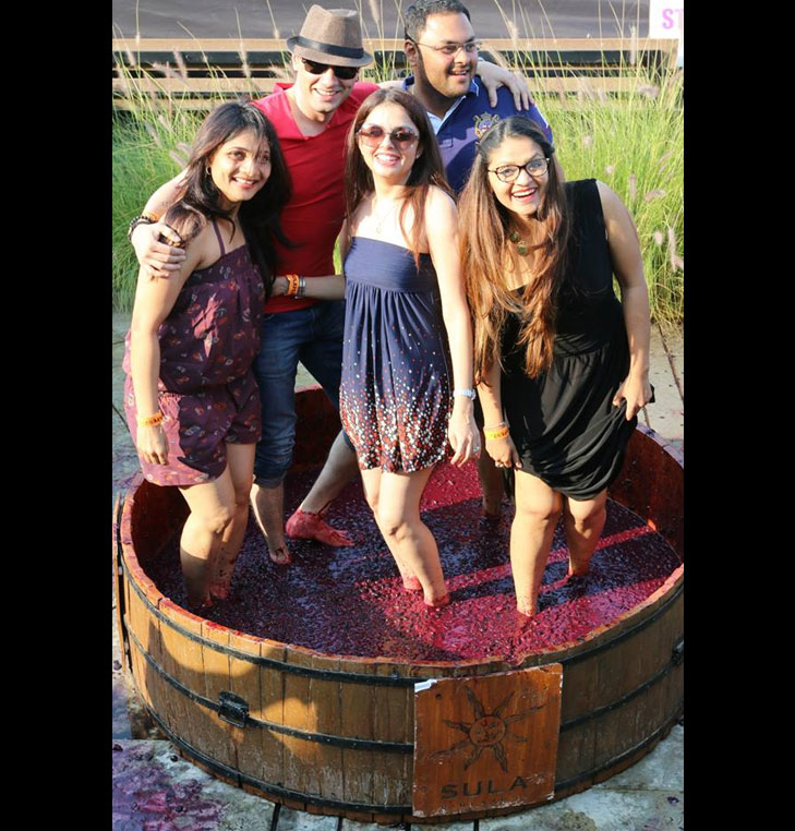 Wine sula fest @TheRoyaleIndia