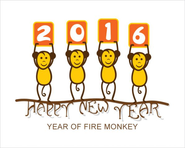 Year of Fire Monkey 2016 @TheRoyaleIndia