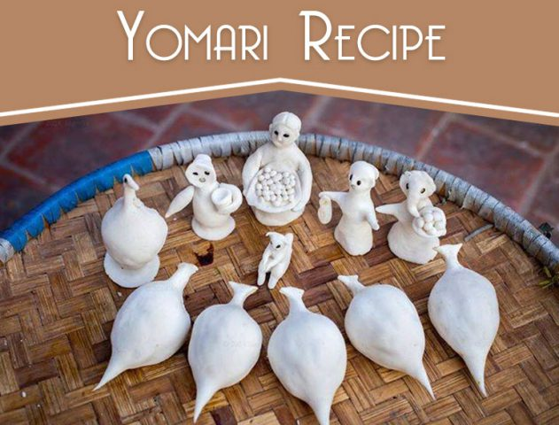 Yomari recipe @TheRoyaleIndia