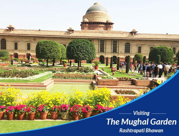 Mughal garden @TheRoyaleIndia