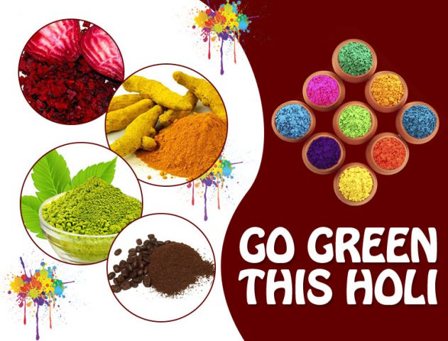 organic colours this holi @TheRoyaleIndia