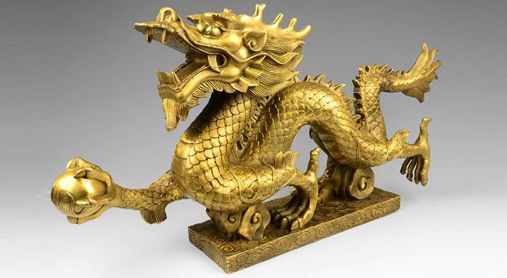 Feng shui dragon gift @TheRoyaleIndia