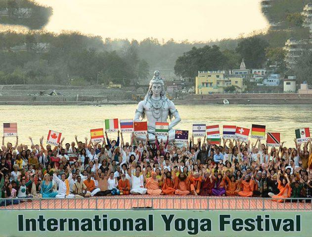 International yoga festival @TheRoyaleIndia