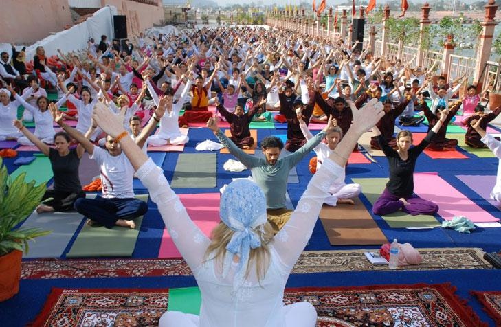 International yoga festival rishikesh @TheRoyaleIndia