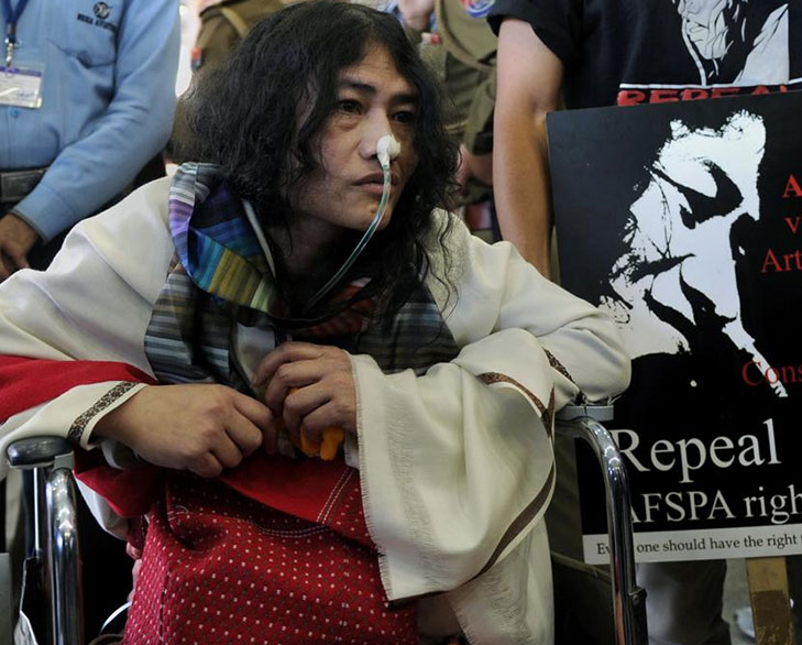 Irom sharmila hunger protest 15 years @TheRoyaleIndia