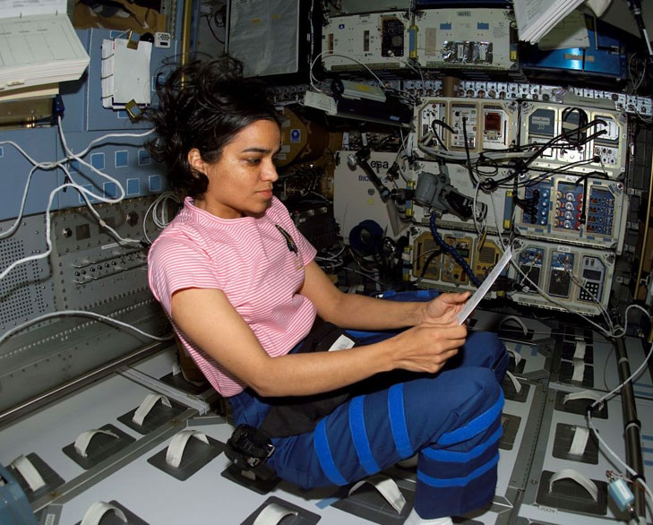Kalpana Chawla In Space Video